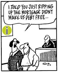 Ripping up the mortgage
