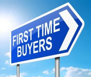First home buyers sign