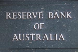 Reserve Bank Of Australia brass plaque