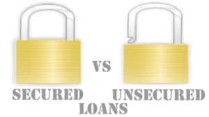 secured-loan-vs-unsecured-loan padlocks